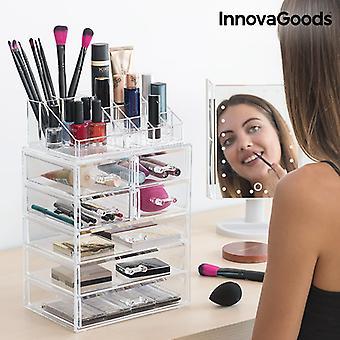 InnovaGoods Acrylic Makeup Organizador