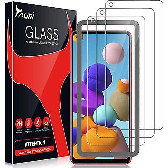 3 Stück Schutzfolie Kompatibel mit Samsung Galaxy A21s Panzerglas Galaxy A21S Panzerglasfolie 9h