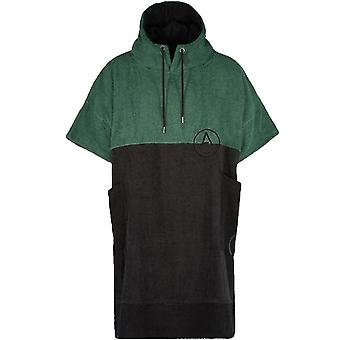Wave Hawaii Unisex Adults Move Beach Surf Hooded Changing Towel Poncho - Green