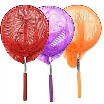 3 Pack Colored Telescopic Butterfly Nets(Group1)