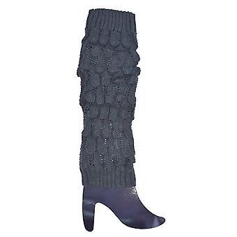 Aquecedores de perna cinza escuro