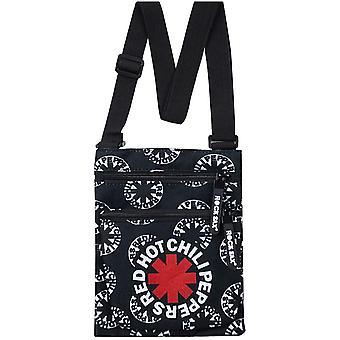 Rock Sax Asterisk Röd Het Chili Peppers Crossbody Bag