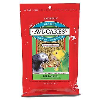 Lafeber Classic Avi-Cakes Gourmet Parrot Food - 12 oz