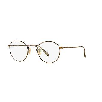 Eyeglasses oliver peoples coleridge ov1186 5039 antique gold glasses