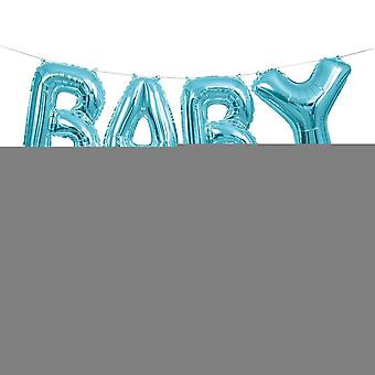 Baby Ballon Banner Kit (Blau)