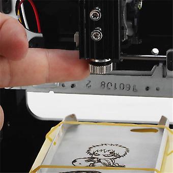 Neje Dk-8 Pro-5 Diy 500mw Usb לייזר מדפסת חותך חרוט מכונת חריטה