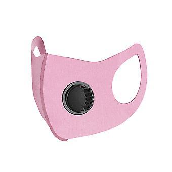 Homemiyn Washable Dustproof Sunscreen Ice Silk Breathing Valve Mask