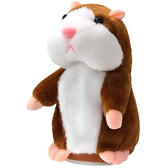 Sprechendes Hamster-Plüschtier Wiederholen Sie, was Sie sagen Lustige Kinder Ausgestopftes interaktives Spielzeug