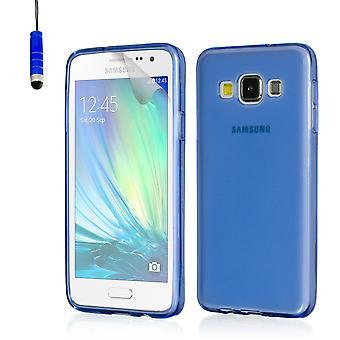Crystal gel Case für Samsung Galaxy A3 SM-A300 (2015) - Deep Blue