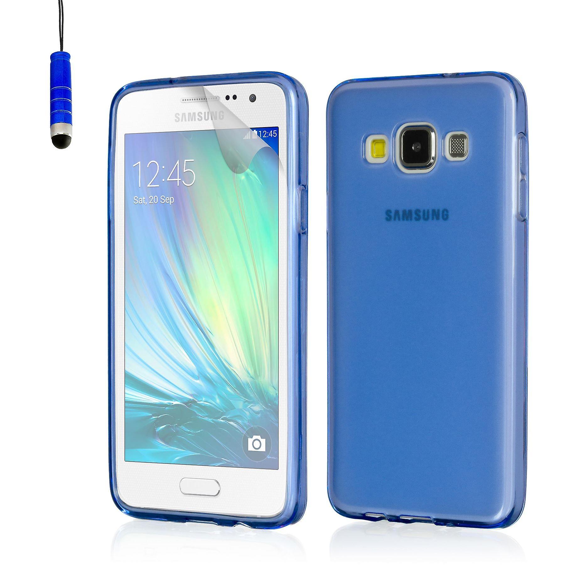 Crystal gel case for Samsung Galaxy A3 SM-A300 (2015) - Deep Blue