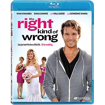 Right Kind of Wrong [BLU-RAY] USA import