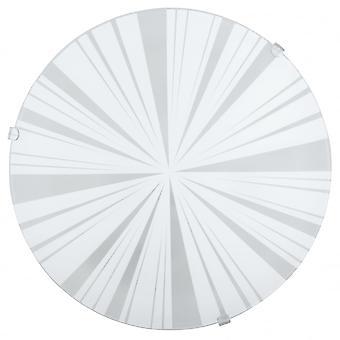 Eglo Mars1 1 Light Traditional Flush Wall/ceiling Light Circular