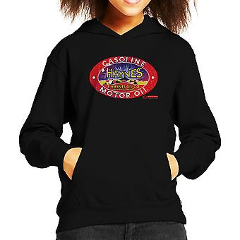 Haynes Brand J Haynes Oil Co Gasoline Motor Oil Kid's Hooded Sweatshirt