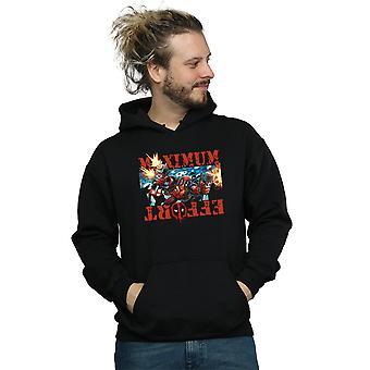 Marvel Men's Deadpool Maximum Effort Hoodie