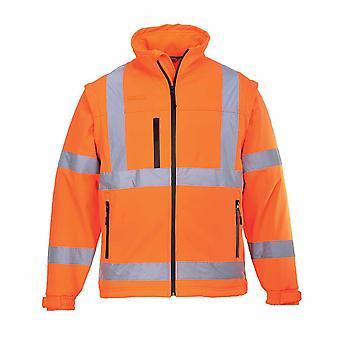 Portwest - Hi-Vis Workwear Softshell Workwear Sicherheitsweste (3L)