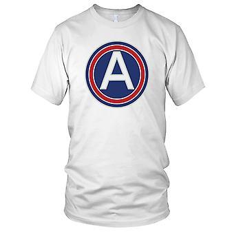 U.S. 3 ° esercito centrale pulito effetto Ladies T Shirt