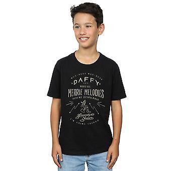 Looney Tunes Daffy Duck verächtlich T-Shirt Boys