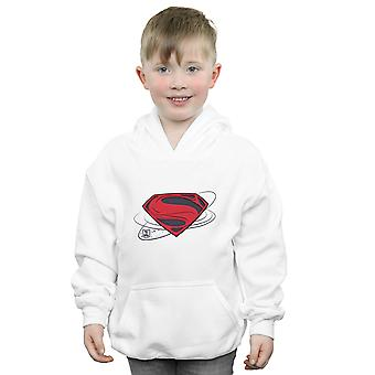 DC Comics Boys Justice League Movie Superman logo Bluza z kapturem