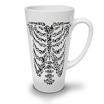 Art Skeleton Bones Skull NEW White Tea Coffee Ceramic Latte Mug 12 oz | Wellcoda