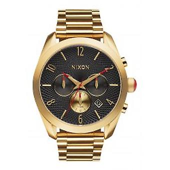 Nixon de kogel Chrono All goud zwart (A366510)