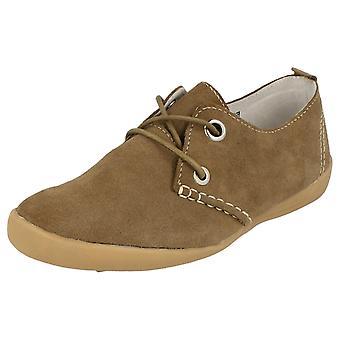 Naiset alas maan Mokka nahka vapaa-ajan kenkiä