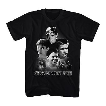 Stand By Me Poster Collage Men's Black T-shirt