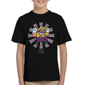 Wario Retro Japans Super Mario Kid's T-Shirt