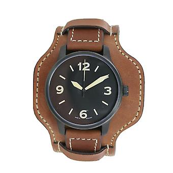Aristo mens watch polshorloge automatische FT zwarte Fliegeruhr 0 H 09 leder