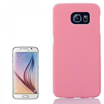 Hard case rubber roze case voor Samsung Galaxy S6 G920 G920F