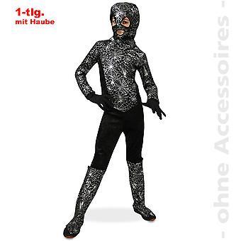 Terno de Ninja traje crianças aranha Spinnenman lutador aranha criança costume