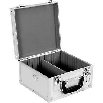 Perel CD Hardcase 40 CDs/DVDs Aluminium 1 PC (W x H x T) 280 x 160 x 268 mm 1823-290