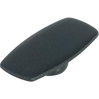 Cover + hand Black, White Suitable for 16 mm wing knob OKW A5016100 1 pc(s)