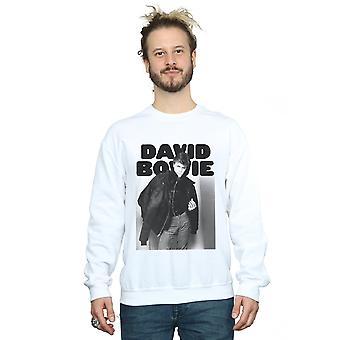 سترة صورة قميص من النوع الثقيل ديفيد باوي الرجال