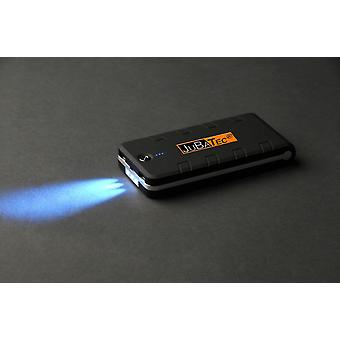 15,600 of mAh power Bank black * rubber coated