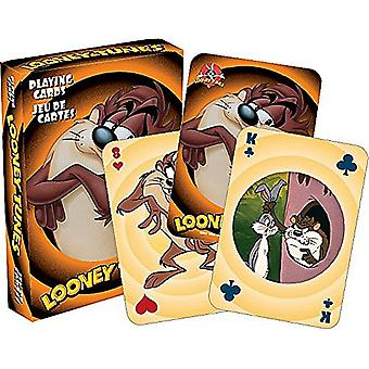 Taz Looney Tunes Set Of 52 Playing Cards