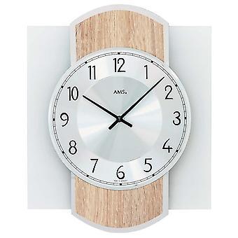 Horloge murale AMS - 9561