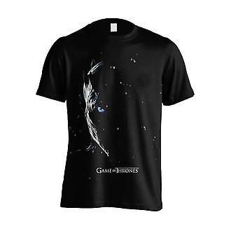 Peli Thrones t-paita yön kuningas (kausi 7)