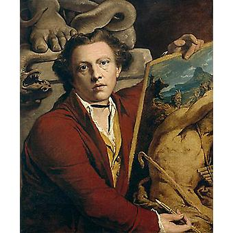 Self-Portrait as Timanthes, James Barry, 76x63cm