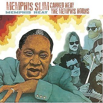 Memphis Slim & Canned Heat - Memphis värme [CD] USA import