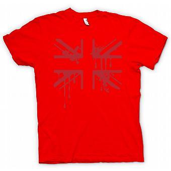 Kids T-shirt - Grunge Blood Union Jack