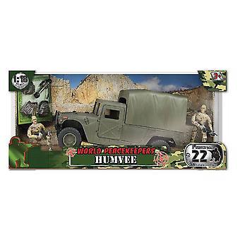 Welt-Friedenstruppen Transport Humvee - Figuren, Zubehör