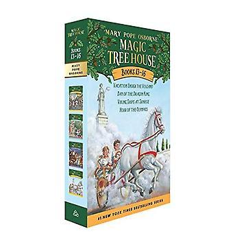 Magic Tree House Volumes 13-16 Boxed Set (Magic Tree House Set #4)