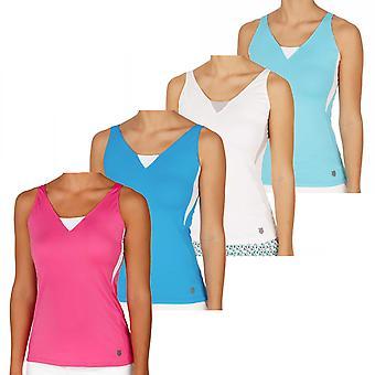 K-Swiss Womens 66 Tank Top Gym Tennis Vest T-Shirt Sleeveless Top