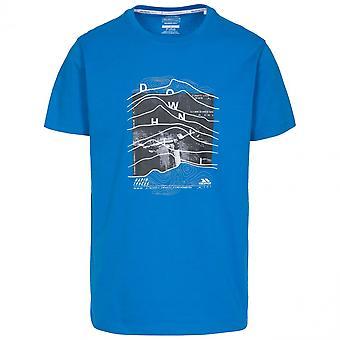 Hausfriedensbruch Mens Abfahrt Kurzarm Graphic T-Shirt