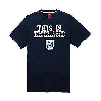 England Football Kids This is England Tee - Navy