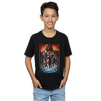 Marvel Boys Avengers Endgame Heroes At War T-Shirt
