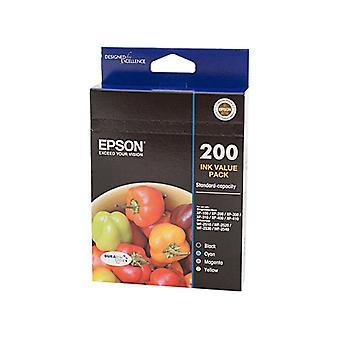Pacchetto valore inchiostro Epson 200 4