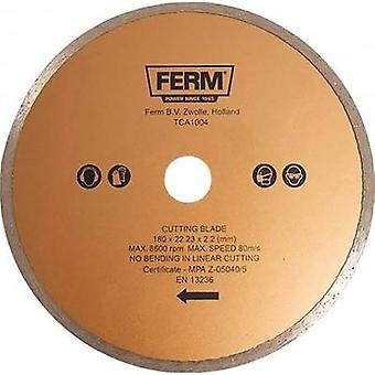 Diamond saw blade Ferm TCA1004 Diameter 180 mm 1 pc(s)