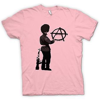 Kinder T-shirt - Banksy Graffiti-Kunst - Anarchy
