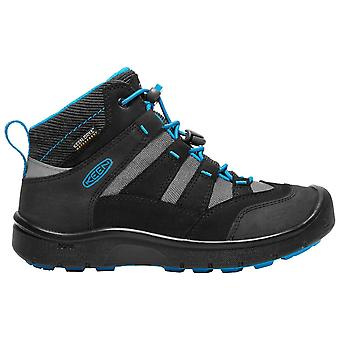 Keen Black Childrens Hikeport Mid WP Walking Boots